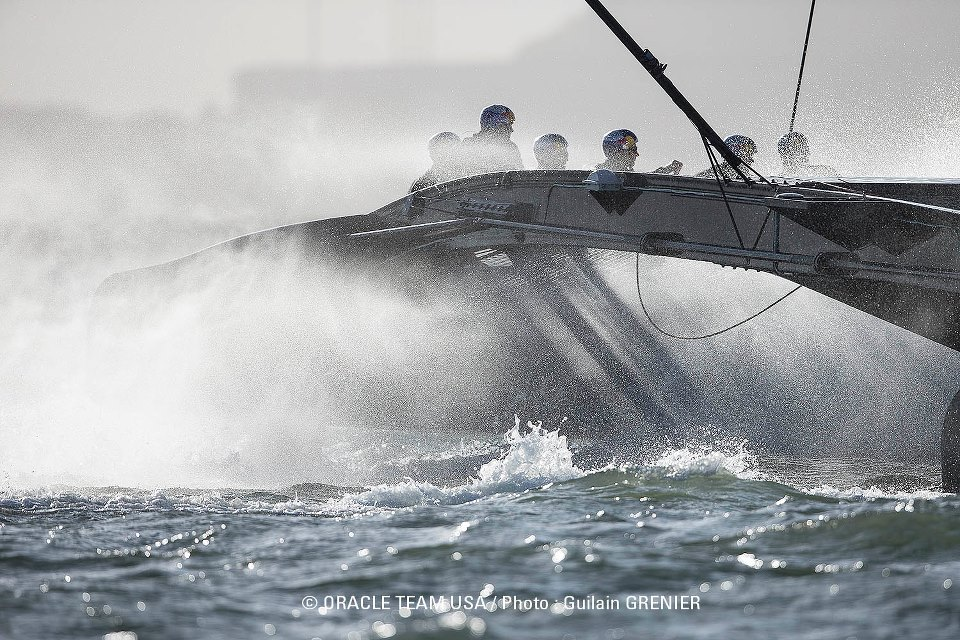 Photo copyright Guilain Grenier/Oracle Team USA